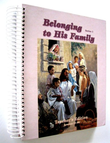 Belonging to His Family series 1 lessons 31-60: Unknown