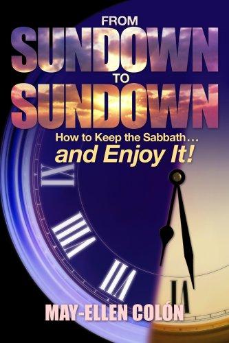 9780816322619: From Sundown to Sundown: How to Keep the Sabbath...and Enjoy It!