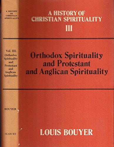 9780816403271: Orthodox Spirituality and Protestant and Anglican Spirituality