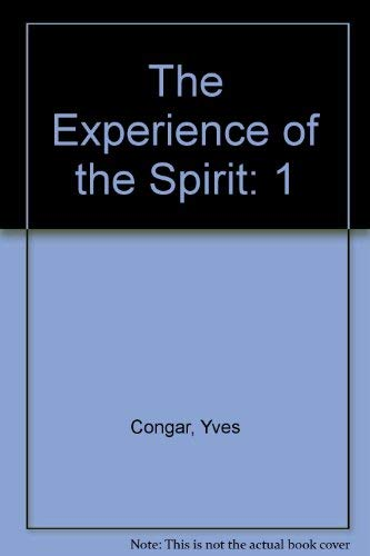 I Believe in the Holy Spirit, Volume: Congar, Yves