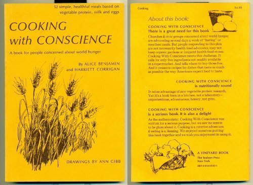 9780816409020: Cooking with Conscience: A Book for People Concerned about World Hunger
