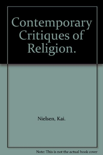 9780816410217: Contemporary Critiques of Religion.