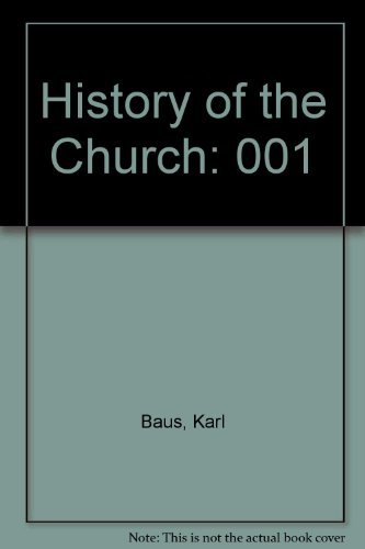 9780816410385: History of the Church: From the Apostolic Community to Constantine, Vol. 1