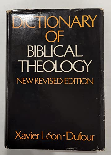 9780816411467: Dictionary of Biblical Theology