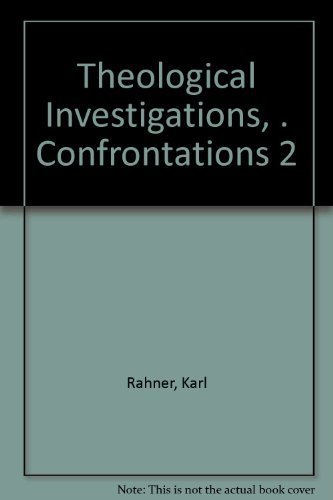 9780816411795: Theological Investigations, . Confrontations 2