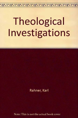 9780816411931: Theological Investigations, Vol. XIII: Theology, Anthropology, Christology