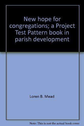 New Hope for Congregations : A Project: Elisa L. DesPortes;