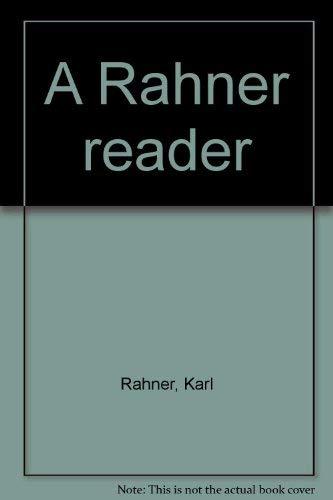 9780816421077: A Rahner reader