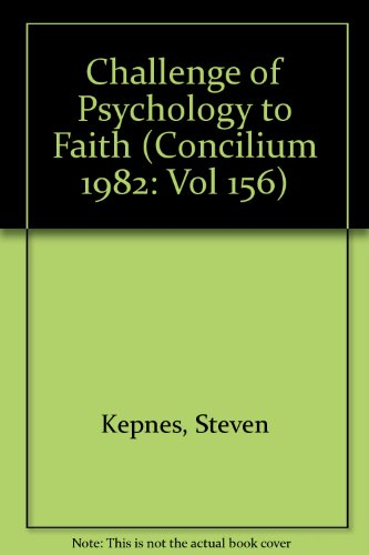 9780816423873: Challenge of Psychology to Faith (Concilium 1982: Vol 156) [Paperback] by Kep...