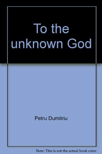 9780816424245: To the unknown God