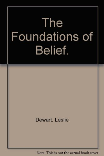9780816425495: The Foundations of Belief.