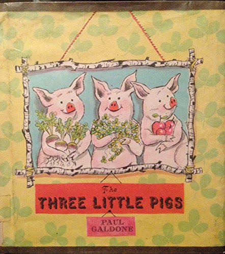 9780816430710: The Three Little Pigs [Hardcover] by Paul Galdone