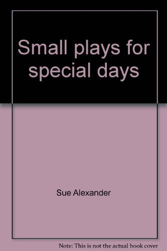 9780816431847: Small plays for special days