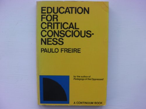 Education for Critical Consciousness (English, Portuguese and: Freire, Paulo