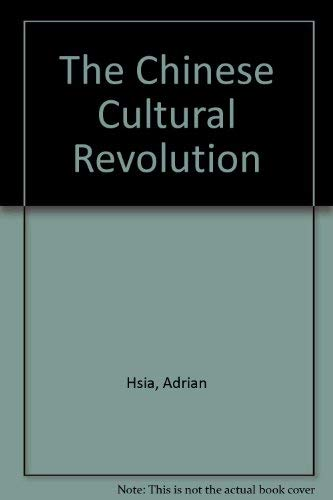 9780816492138: The Chinese Cultural Revolution