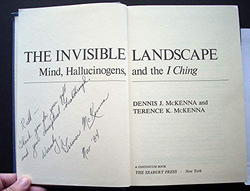 9780816492497: The invisible landscape: Mind, hallucinogens, and the I Ching (A Continuum book)
