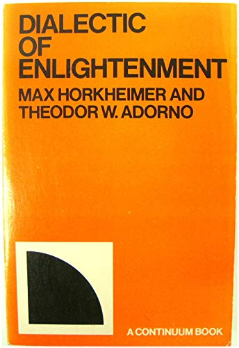 9780816492701: Dialectic of enlightenment (A Continuum book)