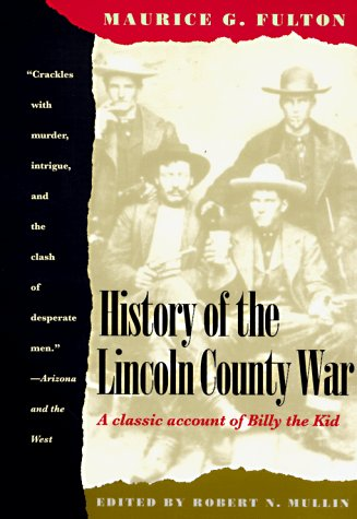 9780816500529: History of the Lincoln County War