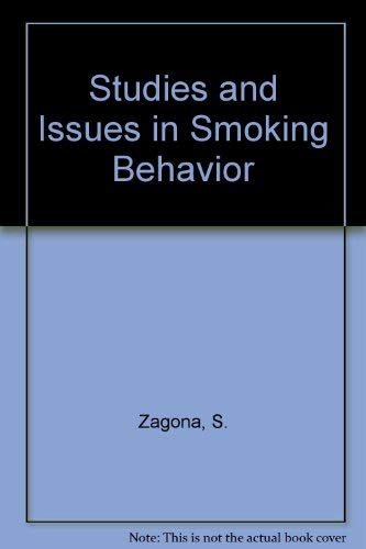 9780816500895: Studies and Issues in Smoking Behavior