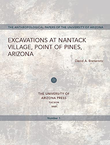 9780816501281: Excavations at Nantack Village, Point of Pines, Arizona (Anthropological Papers)