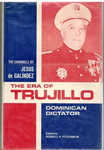 9780816503933: The Era of Trujillo: Dominican Dictator