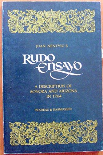 9780816506248: Rudo Ensayo: Description of Sonora and Arizona in 1764