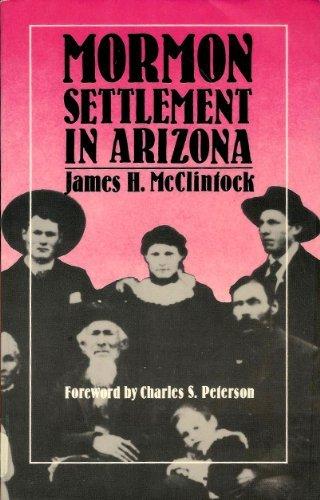 9780816509539: Mormon Settlement in Arizona