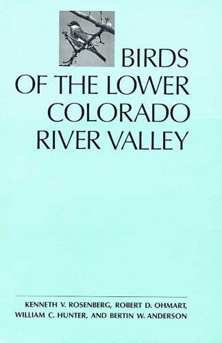 Birds of the Lower Colorado River Valley: Rosenberg, Kenneth, V. , Ohmart, Robert, D.