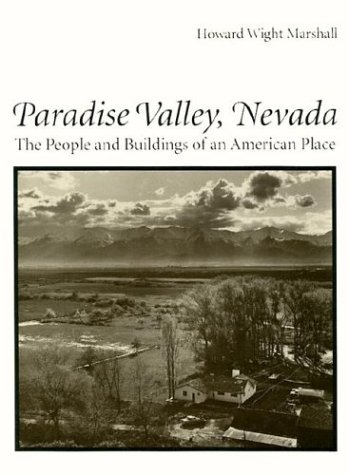 9780816513109: Paradise Valley, Nevada: The People and Buildings of an American Place