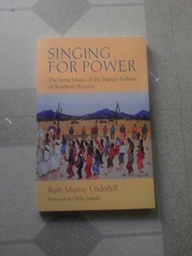 9780816514014: Singing for Power: The Song Magic of the Papago Indians of Southern Arizona (Sun Tracks)