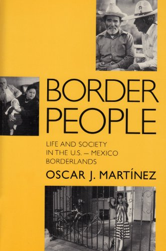 9780816514144: Border People: Life and Society in the U.S.-Mexico Borderlands