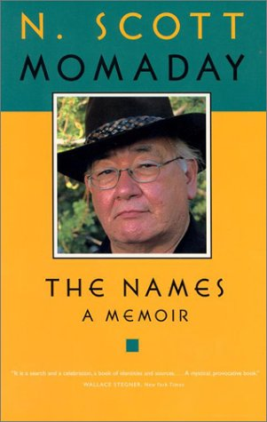 The Names: A Memoir. [SIGNED]: MOMADAY, N.SCOTT