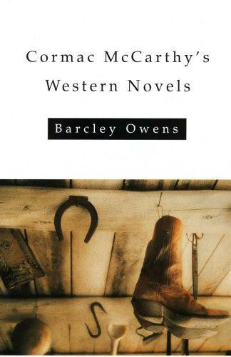 9780816519279: Cormac McCarthy's Western Novels