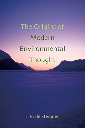 9780816524617: The Origins of Modern Environmental Thought