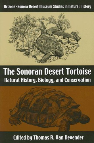 9780816526062: The Sonoran Desert Tortoise: Natural History, Biology, and Conservation (Arizona-Sonora Desert Museum Studies in Natural History)