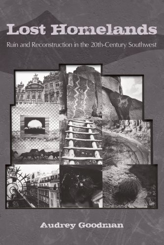 Lost Homelands: Ruin and Reconstruction in the 20th-century Southwest (Hardback): Audrey Goodman