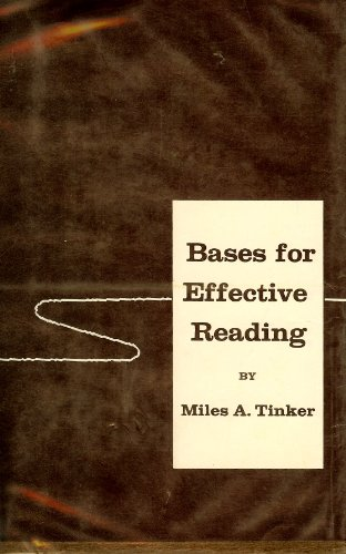 9780816603633: Bases for Effective Reading