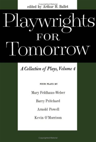 9780816604326: Playwrights for Tomorrow: A Collection of Plays