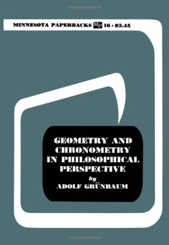 9780816604890: Geometry and Chronometry in Philosophical Perspective
