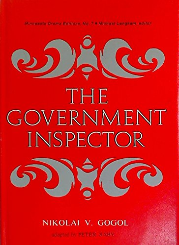 9780816606405: Government Inspector (Minnesota drama editions)