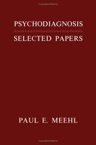 9780816606856: Psychodiagnosis; Selected Papers