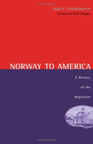 9780816608423: Norway to America CB (English and Norwegian Edition)