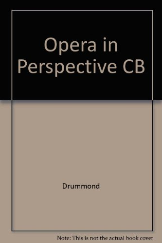 9780816608485: Opera in Perspective