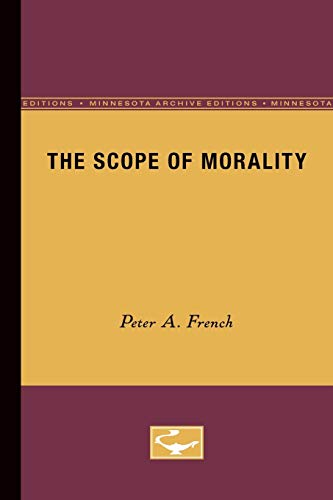 9780816609000: The Scope of Morality