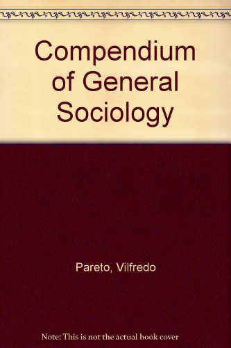 9780816609208: Compendium of General Sociology