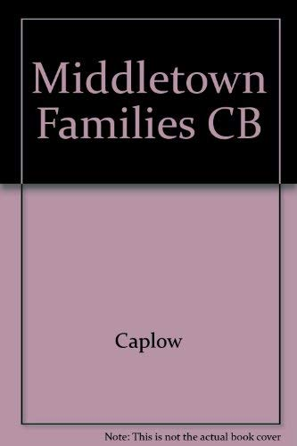 Middletown Families CB: Caplow, Theodore
