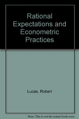 9780816610983: Rational Expectations and Econometric Practice (2 Volume Set)