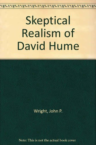 The Sceptical Realism of David Hume (0816612242) by Wright, John P.