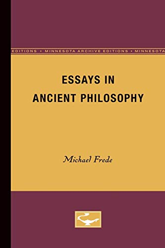 9780816612758: Essays in Ancient Philosophy