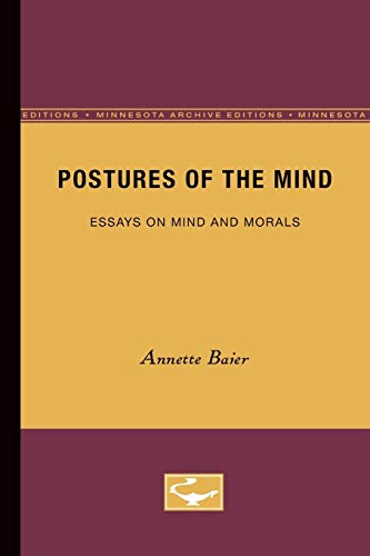 Postures of the Mind (Minnesota Archive Editions): Baier, Annette